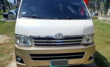 Beige Toyota Hiace 2011 for sale in Pasay