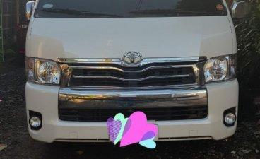 Sell White 2016 Toyota Grandia in Naga