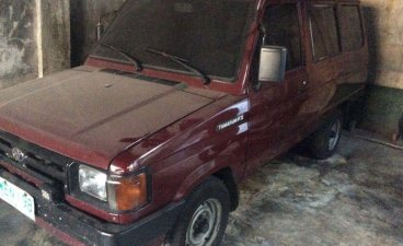 Sell Purple 1998 Toyota tamaraw in Caloocan