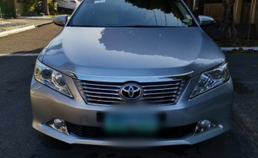 Silver Toyota Camry 2012 for sale in Automatic
