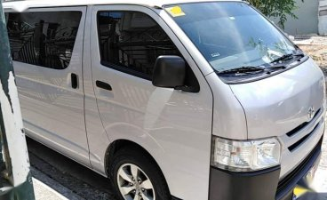 White Toyota Hiace 2016 for sale in Antipolo City