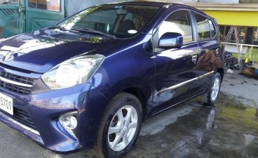 Sell Blue 2017 Toyota Wigo in Cagayan de Oro