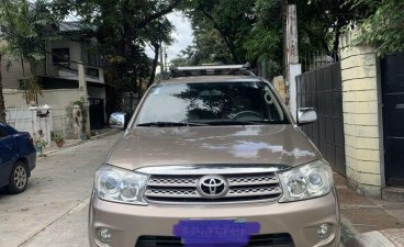 Selling Beige Toyota Fortuner 2011 in Quezon City