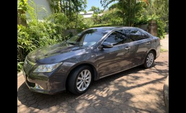 Grey Toyota Camry 2012 Sedan at  Automatic   for sale in Cebu City