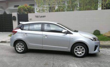Silver Toyota Yaris 2014 for sale in Pasig