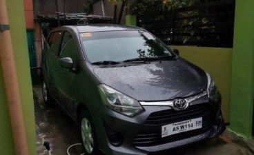 Grey Toyota Wigo 2018 for sale in Manila