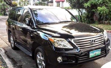 Selling Black Toyota Land Cruiser 2009 in Manila