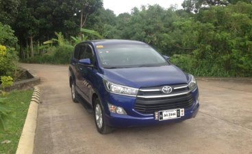 Blue Toyota Innova 2018 for sale in Cainta
