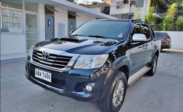 Selling Black Toyota Hilux 2015 in Antipolo