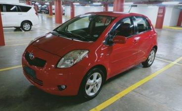 Selling Red Toyota Yaris 2009 in Makati