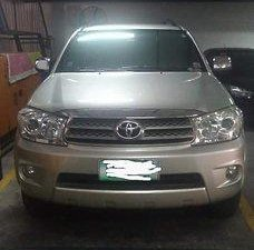 Silver Toyota Fortuner 2011 for sale in Manila