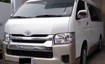 White Toyota Hiace 2018 for sale in San Pedro