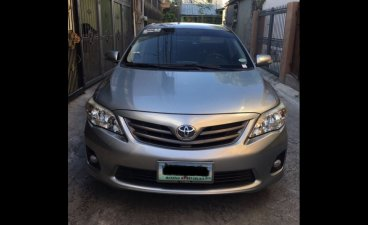 Selling Grey Toyota Corolla altis 2012 Sedan at 78000 in Manila