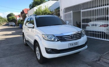 Selling White Toyota Fortuner 2012 in Parañaque