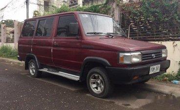 Purple Toyota tamaraw 2000 for sale in Manila