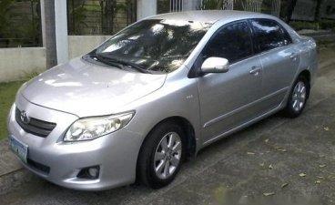 Silver Toyota Corolla altis 2009 for sale in Manual