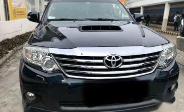 Selling Black Toyota Fortuner 2016 in Tanauan