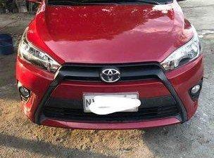 Sell Red 2017 Toyota Yaris in Bulacan