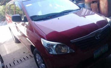 Selling Red Toyota Innova 2012 in Tanza