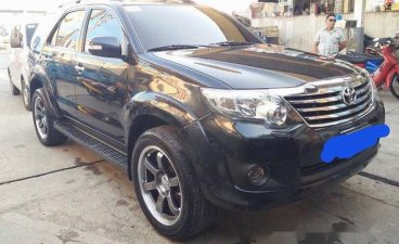 Selling Black Toyota Fortuner 2012 at 74000 km