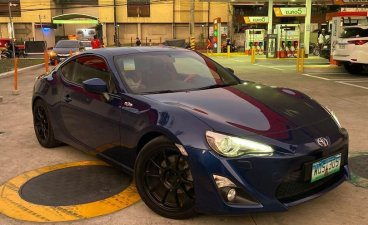 Blue Toyota 86 2014 for sale in Manual