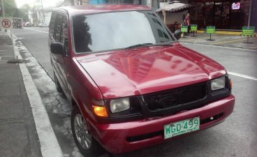 Red Toyota Tamaraw 1999 for sale in Quezon City