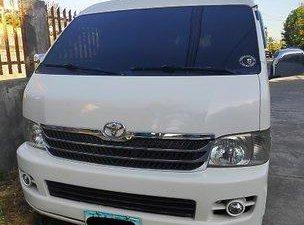 White Toyota Hiace 2008 Van for sale
