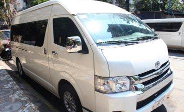 Sell White 2010 Toyota Hiace in Manila