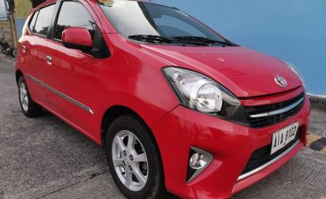 Sell Red 2015 Toyota Wigo in Las Pinas