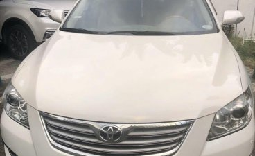 Pearl White Toyota Camry 2008 for sale in Las Pinas