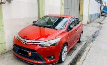 Red Toyota Vios 2010 for sale in Quezon City