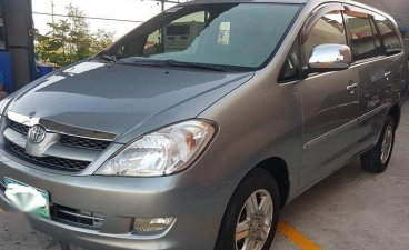 Grey Toyota Innova 2008 for sale in Muntinlupa