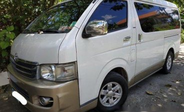 Selling White Toyota Hiace 2008 in Los Baños