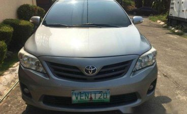 Grey Toyota Corolla altis 2012 for sale in Manila