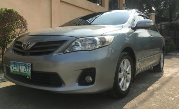 Silver Toyota Corolla altis 2012 for sale in Antipolo City