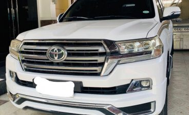White Toyota Land Cruiser 2010 for sale in Quezon City