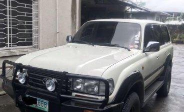 Sell White 1997 Toyota Land Cruiser in Manila