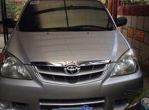 Silver Toyota Avanza 2010 for sale in Manila