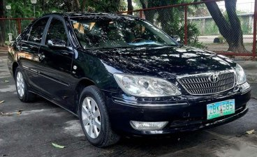 Selling Black Toyota Camry 2005 in Quezon City