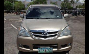 Selling Beige Toyota Avanza 2009 SUV / MPV in Malabon