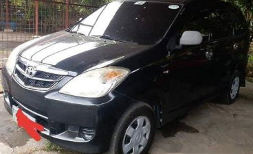 Black Toyota Avanza 2010 for sale in Manual