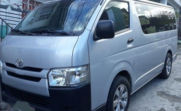 Selling Silver Toyota Hiace 2016 in Antipolo