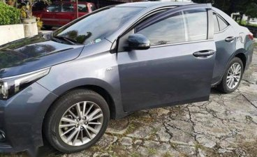 Grey Toyota Corolla altis 2015 for sale in Kalayaan Village