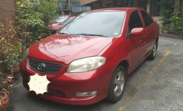 Red Toyota Vios 2006 for sale in San Juan