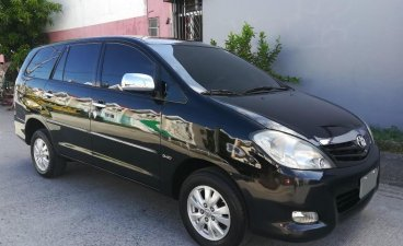 Purple Toyota Innova 2009 for sale in Angeles