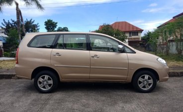 Golden Toyota Innova 2006 for sale in Cebu City