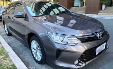 Gray Toyota Camry 2016 for sale in Paranaque City