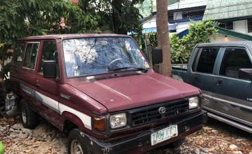 Red Toyota tamaraw 1994 for sale in Quezon City