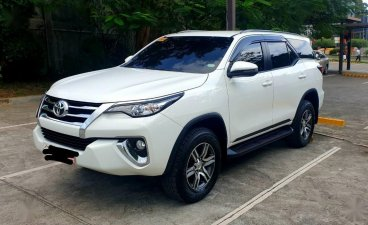 Selling White Toyota Fortuner 2019 in Cebu City