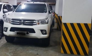 Sell White 2019 Toyota Hilux in Quezon City